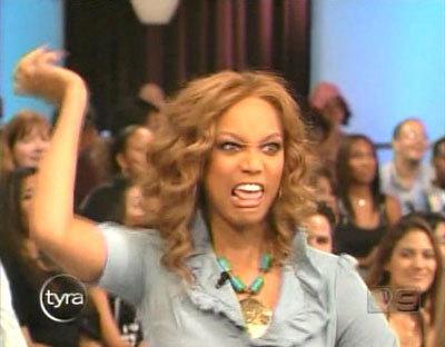 tyra banks crazy. The Tyra Banks Show isn#39;t
